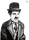 Cartoon: Charlie Chaplin (small) by Pascal Kirchmair tagged charles,charlie,spencer,chaplin,actor,schauspieler,comedian,comedien,acteur,komiker,stummfilm,author,autor,autore,auteur,filmmaker,artist,art,hollywood,parasite,screenwriter,illustration,drawing,zeichnung,pascal,kirchmair,cartoon,caricature,karikatur,ilustracion,dibujo,desenho,ink,disegno,ilustracao,illustrazione,illustratie,dessin,de,presse,du,jour,of,the,day,tekening,teckning,cartum,vineta,comica,vignetta,caricatura,portrait,porträt,portret,retrato,ritratto,melone,tramp,slapstick,komödie,icon,ikone