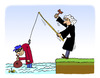 Cartoon: Crime and Punishment (small) by Pascal Kirchmair tagged strafe,justizvollzug,crime,criminel,punition,juge,judge