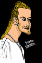 Cartoon: David Beckham (small) by Pascal Kirchmair tagged fifa 100 david beckham manu manchester real madrid brooklyn la galaxy seven sieben england captain kapitän fußball football soccer foot spice spicy boy girls posh victoria