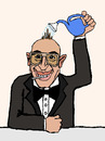 Cartoon: Entzückend Baby! (small) by Pascal Kirchmair tagged telly savalas kojak lolli entzückend baby cartoon karikatur lutscher sucette