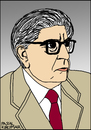 Cartoon: Ernst Bloch (small) by Pascal Kirchmair tagged marxist,ernst,bloch,philosoph,portrait,retrato,ritratto,cartoon,caricature,karikatur,germany