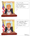 Cartoon: FIRE AND FURY (small) by Pascal Kirchmair tagged donald,trump,fire,and,fury,book,michael,wolff,steve,bannon,president,potus,united,states,od,america,usa,caricature,cartoon,drawing,karikatur,dibujo,desenho,dessin,disegno,vignette,pascal,kirchmair,zeichnung,ilustracion,ilustracao,illustration,illustrazione,illustratie,tekening,teckning,white,house,weißes,haus,maison,blanche,casa,blanca,bianca,caricatura