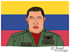 Cartoon: Hugo Chavez (small) by Pascal Kirchmair tagged hugo,chavez,caricature,cartoon,karikatur,vignetta,vineta,comica,dibujo,desenho,illustration,venezuela,drawing,zeichnung,dessin,disegno,presidente,präsident,president,alo