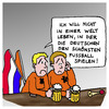 Cartoon: Holländische Fußballtristesse (small) by Pascal Kirchmair tagged em,2012,europameisterschaft,deprimierte,holländische,fußballfans,fußball,tristesse,holland,niedrlande,voetbal,hup,traurige,fans