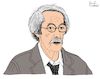 Cartoon: Jean Rochefort (small) by Pascal Kirchmair tagged jean,rochefort,dibuix,illustration,drawing,zeichnung,pascal,kirchmair,cartoon,caricature,karikatur,ilustracion,dibujo,desenho,ink,disegno,ilustracao,illustrazione,illustratie,dessin,de,presse,du,jour,art,of,the,day,tekening,teckning,cartum,vineta,comica,vignetta,caricatura,paris,france,acteur,actor,attore,ator,schauspieler,frankreich,calmos,un,elephant,ca,trompe,enormement