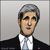 Cartoon: John F. Kerry (small) by Pascal Kirchmair tagged john,forbes,kerry,karikatur,caricature,cartoon,portrait,zeichnung,dessin,drawing,caricatura,vignetta,usa