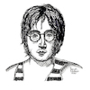 Cartoon: John Lennon (small) by Pascal Kirchmair tagged star,the,beatles,john,lennon,musik,musiker,musician,music,singer,songwriter,composer,illustration,drawing,zeichnung,pascal,kirchmair,cartoon,caricature,karikatur,ilustracion,dibujo,desenho,ink,disegno,ilustracao,illustrazione,illustratie,dessin,de,presse,du,jour,art,of,day,tekening,teckning,cartum,vineta,comica,vignetta,caricatura,portrait,portret,retrato,ritratto,porträt
