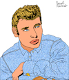 Cartoon: Johnny Hallyday (small) by Pascal Kirchmair tagged johnny hallyday jean philippe smet dessin drawing illustration pascal kirchmair dibujo retrato portrait caricatura cartoon caricature cartum tekening karikatur ilustracion illustratie ilustracao portret illustrazione ritratto desenho disegno wacom cintiq 21ux ritning teckning rock roll les portes du penitencier star olympia