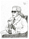 Cartoon: Karl Lagerfeld mit Stofftier (small) by Pascal Kirchmair tagged coco,chanel,fashion,mode,label,moda,vogue,cats,katzen,gatos,gatti,chats,humour,umorismo,humorous,spirito,humor,karl,otto,lagerfeld,illustration,drawing,zeichnung,pascal,kirchmair,political,cartoon,caricature,karikatur,ilustracion,dibujo,desenho,ink,disegno,ilustracao,illustrazione,illustratie,dessin,de,presse,tekening,teckning,cartum,vineta,comica,vignetta,caricatura,puppe,poupee,stofftier,puppet,doll,plush,toy,soft