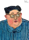 Cartoon: Kim Jong-un (small) by Pascal Kirchmair tagged kim jong un portrait retrato drawing illustration zeichnung ilustracion ilustracao dibujo desenho dessin disegno ritratto pascal kirchmair caricature karikatur cartoon tekening portret cartum teckning caricatura karikatür nordkorea north korea pjöngjang pyongyang corea coree du del norte nord