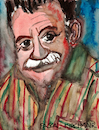 Cartoon: Mario Benedetti (small) by Pascal Kirchmair tagged mario,benedetti,caricatura,retrato,desenho,dibujo,drawing,dessin,zeichnung,cartoon,cartum,karikatur,portrait,journalist,dichter,schriftsteller,uruguay,escritor,ecrivain,scrittore,poet,poeta,montevideo,orlando,hamlet,hardy,brenno,farugia,pascal,kirchmair,illustration,cuadro,quadro,disegno,aquarell,watercolour,porträt,dipinto,pintura