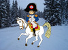 Cartoon: Napoleon in Tirol (small) by Pascal Kirchmair tagged defaite,andreas,hofer,innsbruck,schlacht,bergisel,berg,isel,tirol,winter,franzosenkaiser,empereur,franzosen,der,kaiser,bonaparte,napoleon