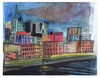 Cartoon: Nashville Tennessee (small) by Pascal Kirchmair tagged illustration,usa,nashville,tennessee,watercolour,aquarell