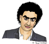 Cartoon: Rolando Villazon (small) by Pascal Kirchmair tagged rolando,villazon,karikatur,caricature,cartoon,portrait,dessin,zeichnung,mexiko,mexico,opera,oper,sänger,tenor