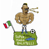 Cartoon: Super Mario (small) by Pascal Kirchmair tagged super,mario,balotelli,italia,italien,squadra,azzurra,calcio,fußball,world,cup,cartoon,humour,caricature,karikatur,dessin,humor,foot,football,futebol,futbol,fifa,weltmeisterschaft