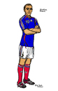 Cartoon: Zinedine Zidane (small) by Pascal Kirchmair tagged zinedine zidane zizou illustration caricature dessin karikatur cartoon france frankreich