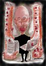 Cartoon: Apple A Day (small) by kar2nist tagged seve,job,cancer,itunes,apple,computers,doctor,ipad,iphone,mcintosch