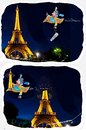 Cartoon: Beheading Eiffel (small) by kar2nist tagged eiffel,accidents,carpet,flying