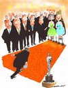 Cartoon: Bowling for Oscars (small) by kar2nist tagged oscar,awards,nominations,bowing,alley,film