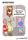 Cartoon: Hen pecked Husband (small) by kar2nist tagged hen,husband,wife