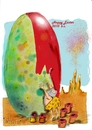Cartoon: easter 2010 B.C. (small) by axinte tagged axi