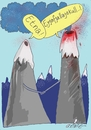 Cartoon: volcano (small) by axinte tagged axinte