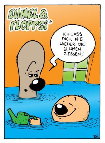 Eumel Und Floppsi By Bulow Philosophy Cartoon Toonpool