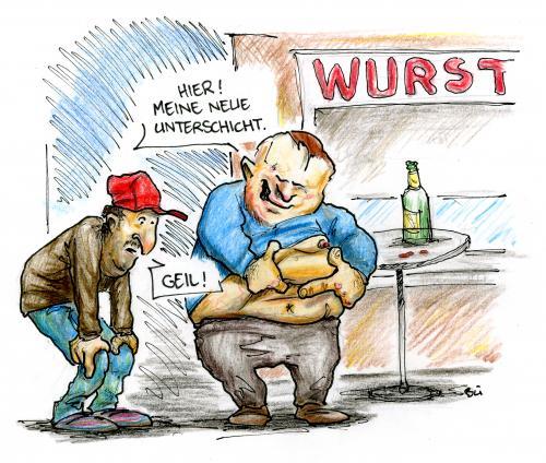 Prekariat By Bülow | Philosophy Cartoon | TOONPOOL