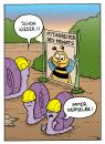 Cartoon: Fitch - Immer feucht. (small) by Bülow tagged schnecke,slug