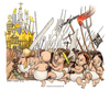 Cartoon: Indignati (small) by Niessen tagged revolution,crises,kinder,children,bambini