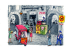 Cartoon: Zero Spazzatura (small) by Niessen tagged naples waste ecology trash recycling environment