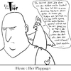 Cartoon: Der Plappagei (small) by Mistviech tagged tiere natur pappagei plappern labern tratschen