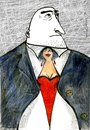 Cartoon: Tie (small) by galina_pavlova tagged woman