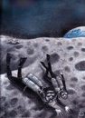 Cartoon: divers on the moon (small) by drljevicdarko tagged divers,on,the,moon