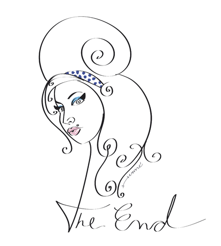 Cartoon: The End (medium) by Herme tagged amy