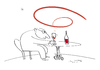 Cartoon: giroWine (small) by Herme tagged wine bar pub