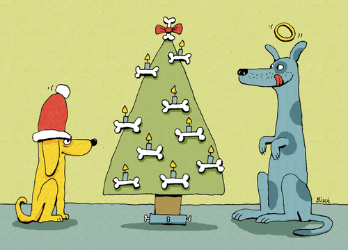 doggy x mas by bisch religion cartoon toonpool. Black Bedroom Furniture Sets. Home Design Ideas