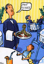 Cartoon: Spagat Bolognese (small) by BiSch tagged spaghetti
