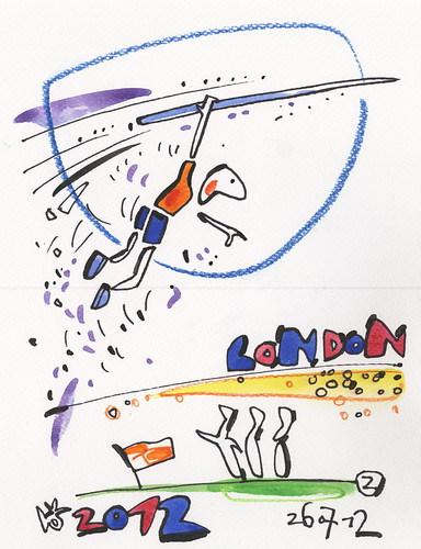 London Olympics. Javelin