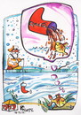 Cartoon: Fish dreams of Santa Claus gifts (small) by Kestutis tagged weihnachten,kestutis,gift,dreams,coca,nature,fish,santa,claus,fischer,fisherman,winter,christmas