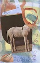 Cartoon: New DADA (small) by Kestutis tagged new,dada,postcard,kestutis,lithuania,pferd,horse,art,kunst