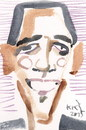 Cartoon: Obama (small) by Kestutis tagged president,obama,usa,kestutis,lithuanaia,portrait