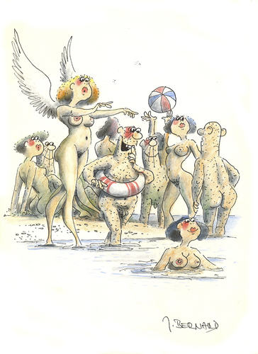 Der Unglaubliche Cartoon nackt