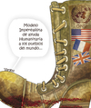 Cartoon: AYUDA HUMANITARIA (small) by OTORONGO tagged guerra
