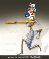 Cartoon: PINOCHO (small) by OTORONGO tagged medios,mentiras