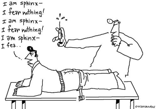 Alfa img - Showing > Cartoon Doctors with Needles