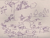 Cartoon: birdhouses and stuff (small) by ouzounian tagged birds,birdhouse,drinking,carpentry