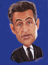 Cartoon: Sarkozy (small) by cristianst tagged president