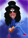 Cartoon: Slash (small) by cristianst tagged caricature