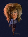 Cartoon: Tina Turner (small) by cristianst tagged caricature